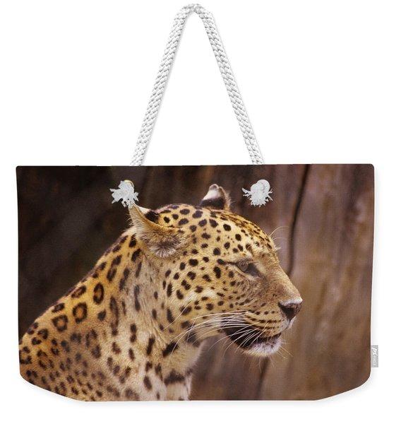 Leopard Weekender Tote Bag