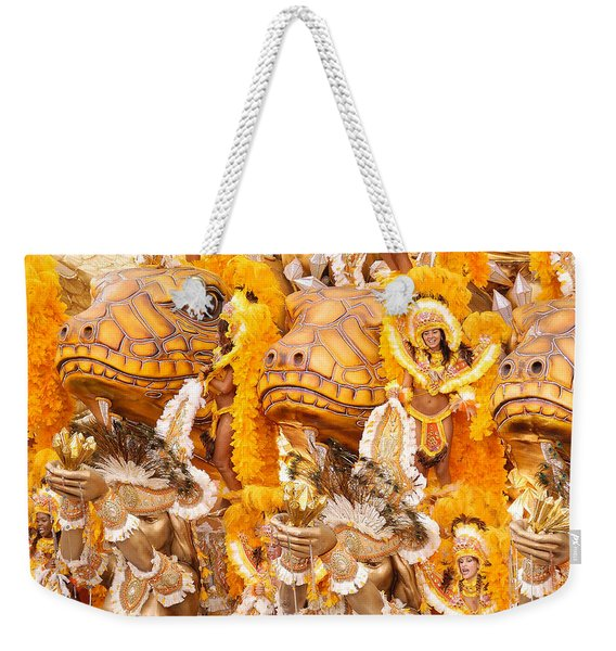 Lets Samba Weekender Tote Bag