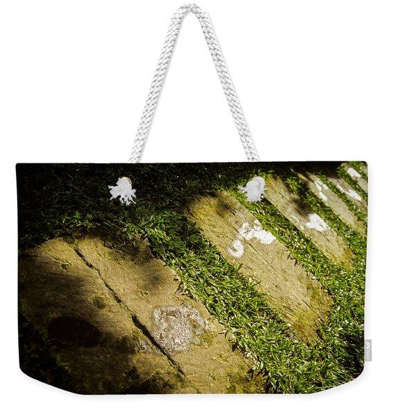 Light Footsteps In The Garden Weekender Tote Bag