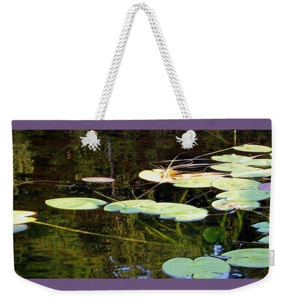 Lily Pads On The Lake Weekender Tote Bag