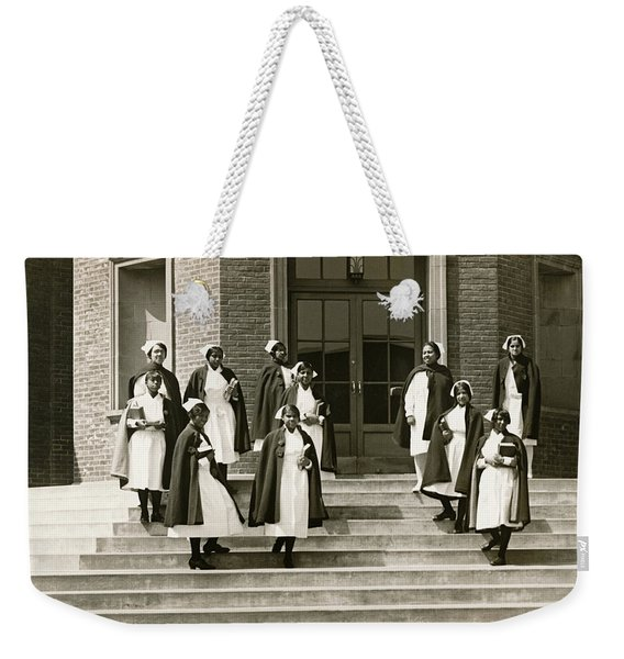 Lincoln School For Nurses Weekender Tote Bag