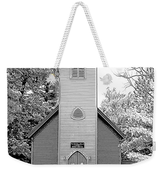 Little Brown Church Weekender Tote Bag