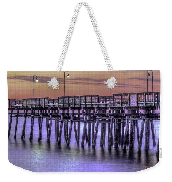 Little Island Pier Weekender Tote Bag