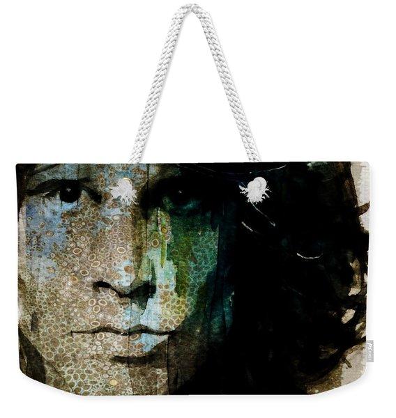 Lizard King / Jim Morrison Weekender Tote Bag