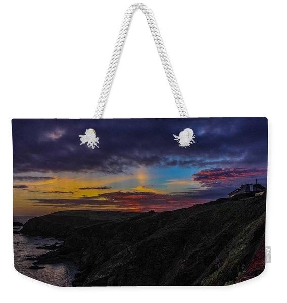 Lizard Point At Sunset  Weekender Tote Bag