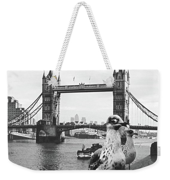 London Weekender Tote Bag
