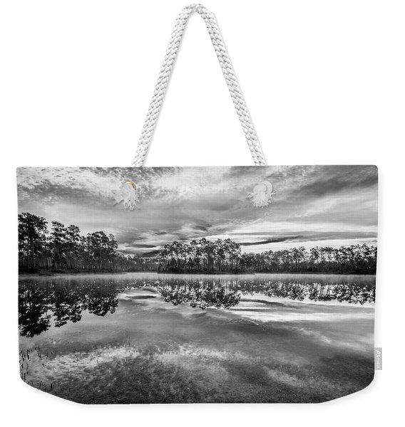 Long Pine Bw Weekender Tote Bag