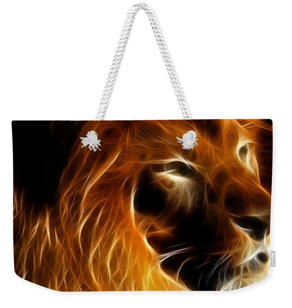 Lord Of The Jungle Weekender Tote Bag