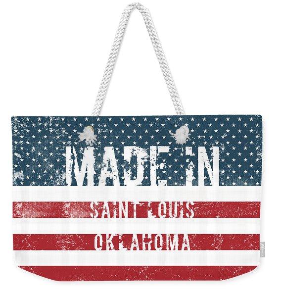 Made In Saint Louis, Oklahoma Weekender Tote Bag