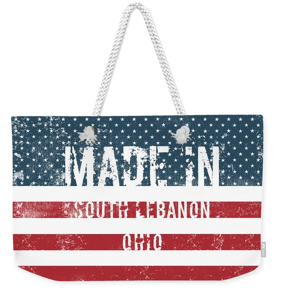 Made In South Lebanon, Ohio Weekender Tote Bag
