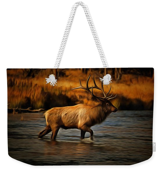 Madison Bull Weekender Tote Bag