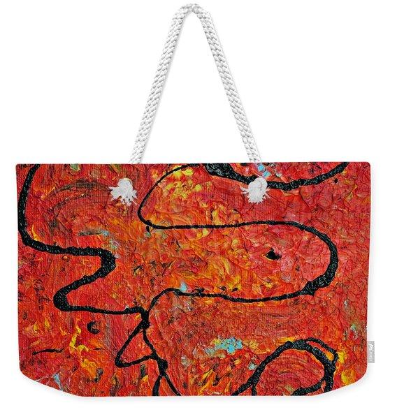 Magic Water Weekender Tote Bag