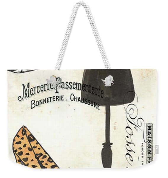 Maison De Mode 1 Weekender Tote Bag