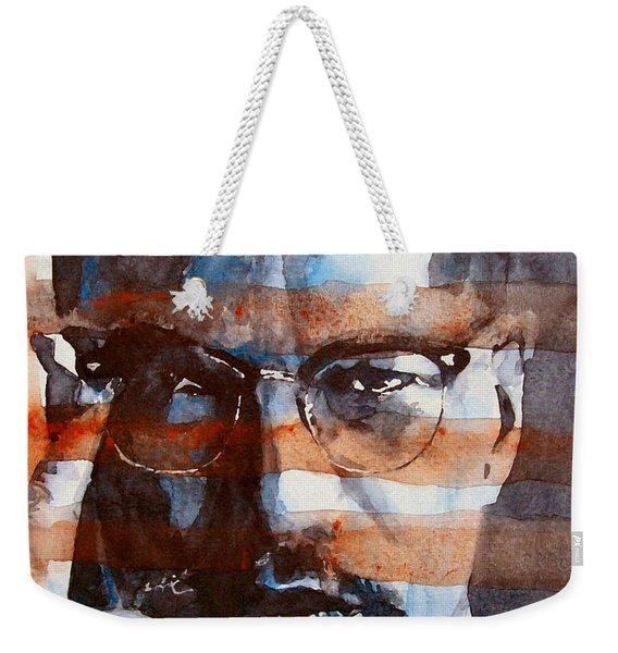 Malcolmx Weekender Tote Bag
