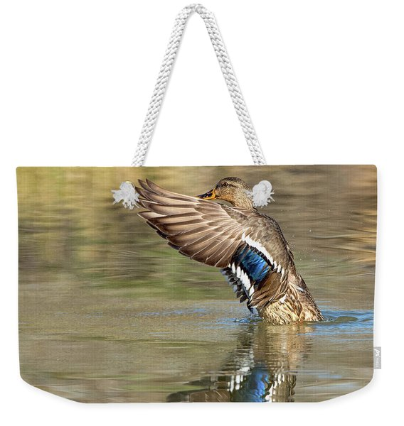 Mallard Duck Female Weekender Tote Bag