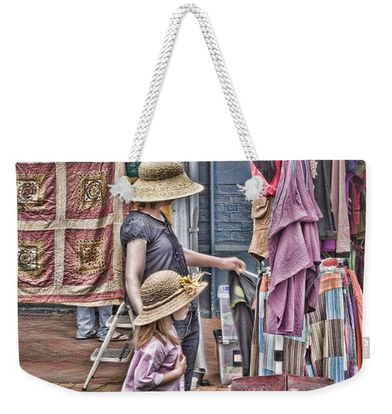 Matching Hats Weekender Tote Bag