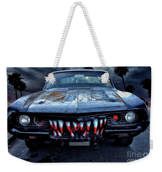 Mean Streets Of Belmont Heights Weekender Tote Bag