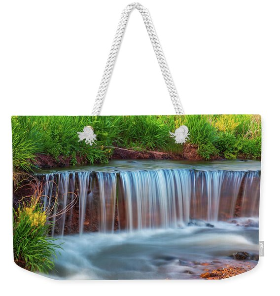Weekender Tote Bag featuring the photograph Meditation by John De Bord