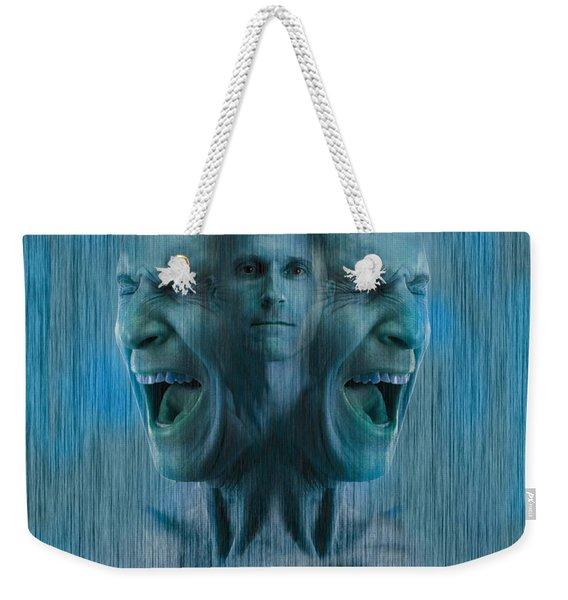 Mental Illness Weekender Tote Bag