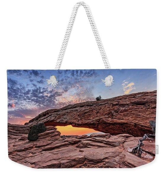 Mesa Arch At Sunrise Weekender Tote Bag