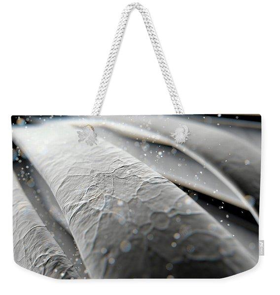 Microscopic Hair Strands Weekender Tote Bag