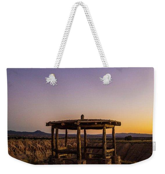 Cathedral Gorge Gazebo Weekender Tote Bag