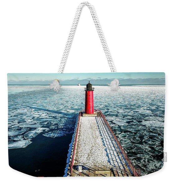 Milwaukee Harbor Weekender Tote Bag