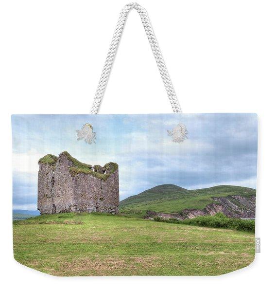 Minard Castle - Ireland Weekender Tote Bag