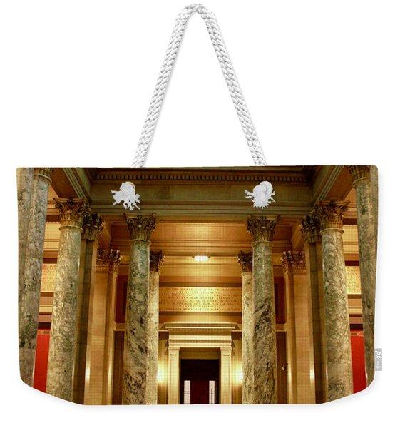 Minnesota Supreme Court Weekender Tote Bag