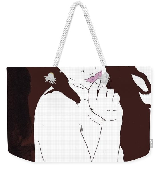 Mischevious Weekender Tote Bag