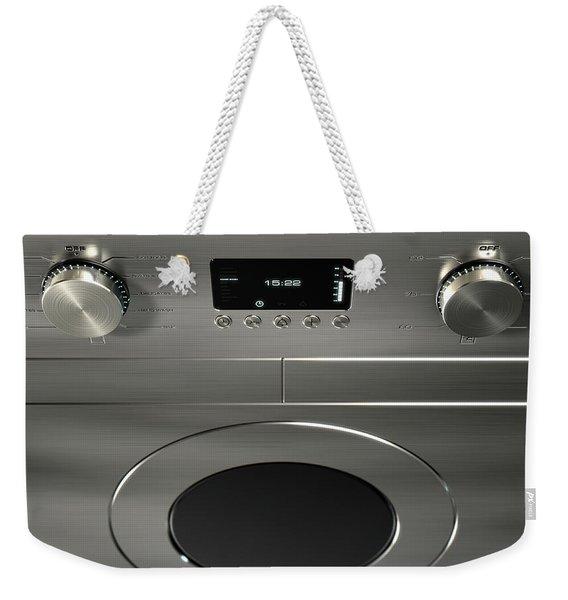 Modern Washing Machine Closeups Weekender Tote Bag