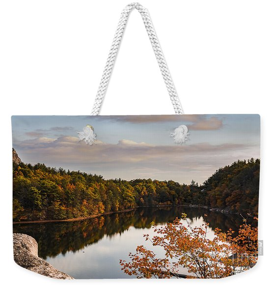 Mohonk Mountain House Lake Weekender Tote Bag