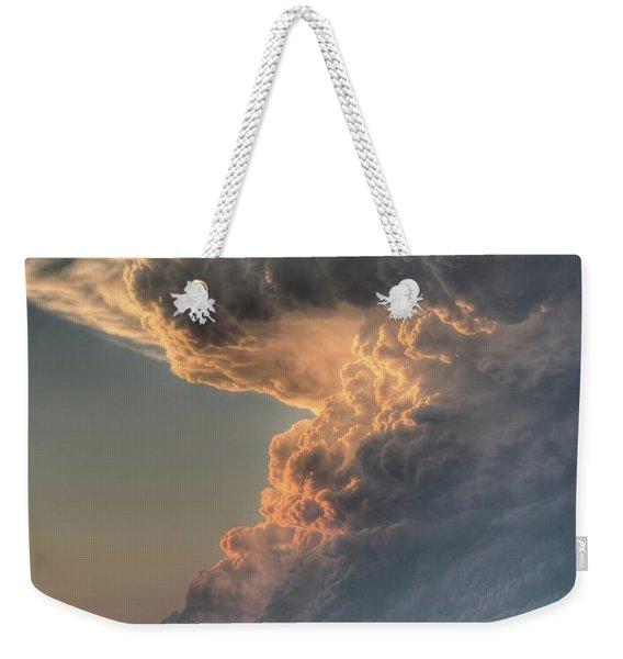 Montana Thunderstorm Weekender Tote Bag