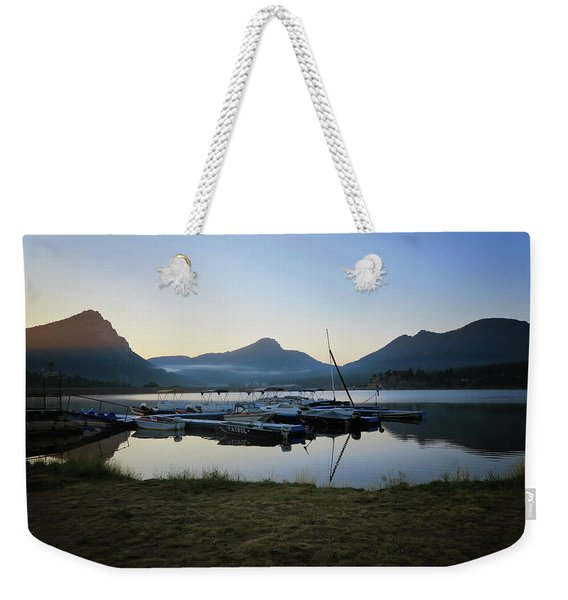 Morning Fog Weekender Tote Bag