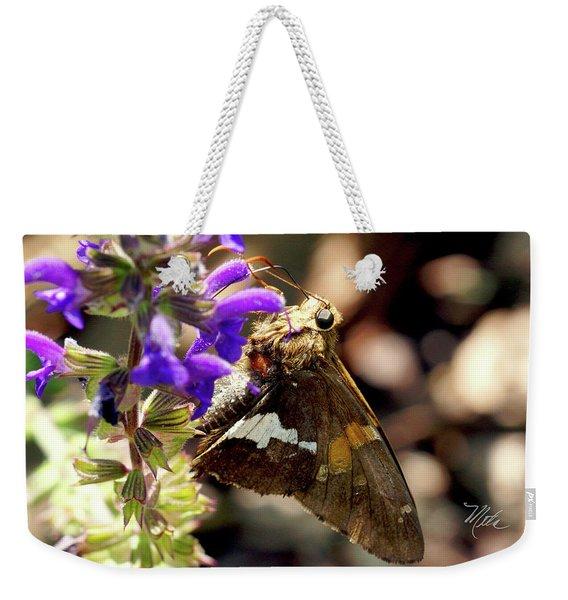 Moth Snack Weekender Tote Bag