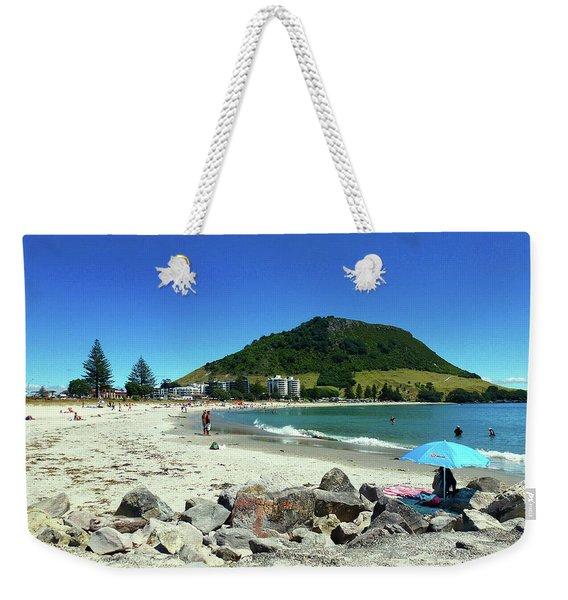 Mount Maunganui Beach 1 - Tauranga New Zealand Weekender Tote Bag