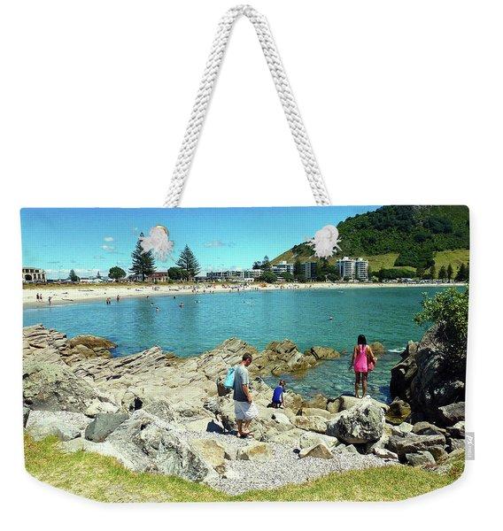 Mount Maunganui Beach 12 - Tauranga New Zealand Weekender Tote Bag
