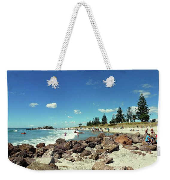 Mount Maunganui Beach 2 - Tauranga New Zealand Weekender Tote Bag