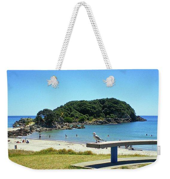 Mount Maunganui Beach 4 - Tauranga New Zealand Weekender Tote Bag