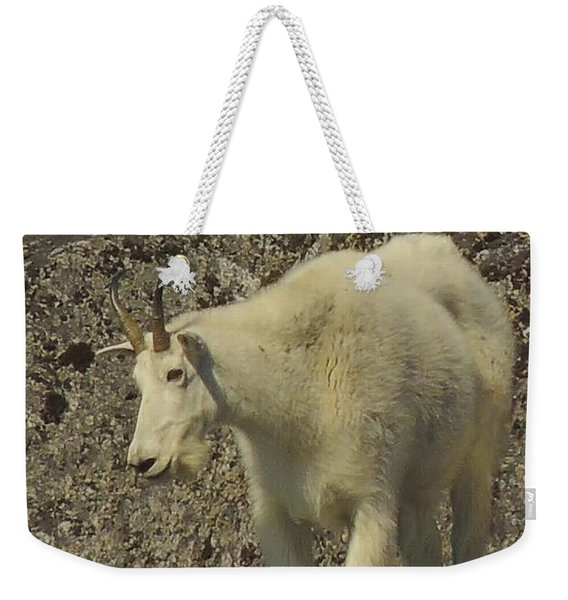 Mountain Goat Ewe Weekender Tote Bag
