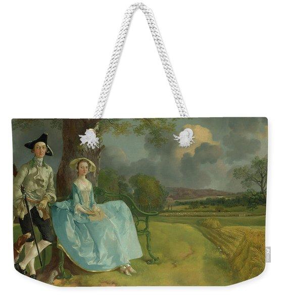 Mr And Mrs Andrews Weekender Tote Bag