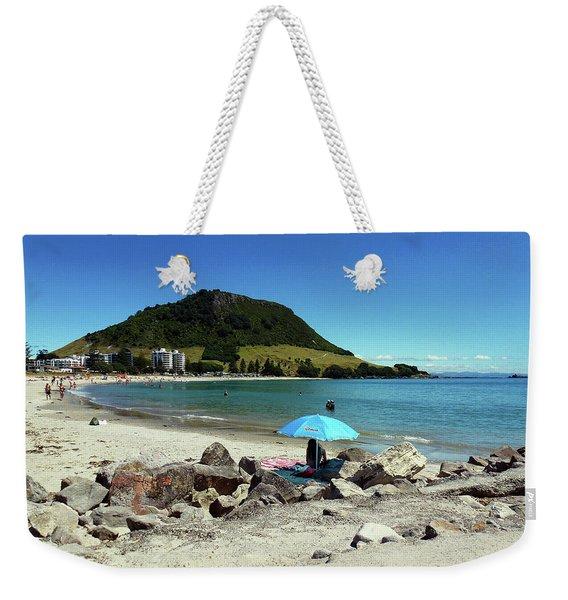 Mt Maunganui Beach 5 - Tauranga New Zealand Weekender Tote Bag