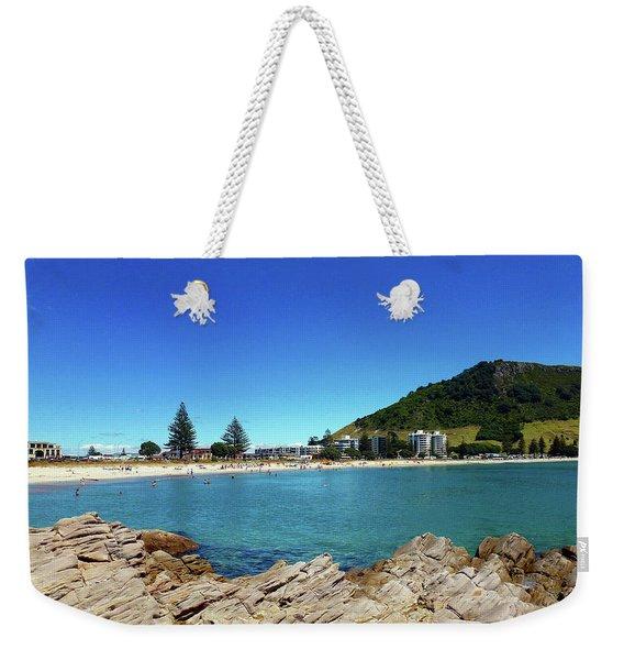 Mt Maunganui Beach 9 - Tauranga New Zealand Weekender Tote Bag