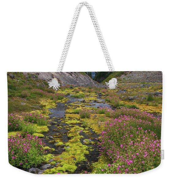 Mt Rainier National Park Weekender Tote Bag