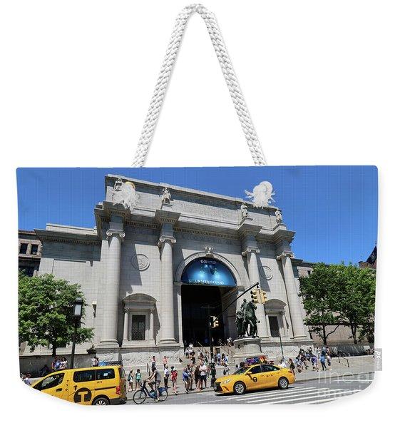 Museum Of Natural History Weekender Tote Bag