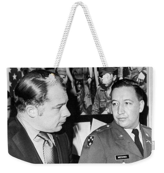 My Lai Massacre Inquiry Weekender Tote Bag