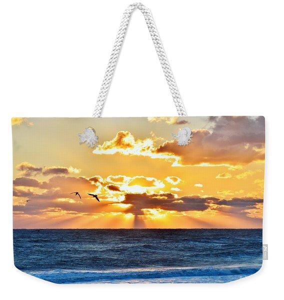 Nags Head Sunrise  Weekender Tote Bag