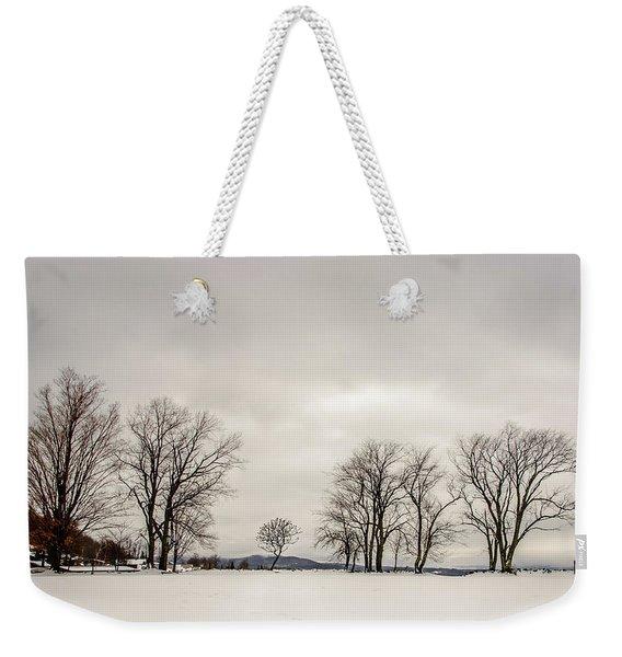 Naked Treeline Weekender Tote Bag