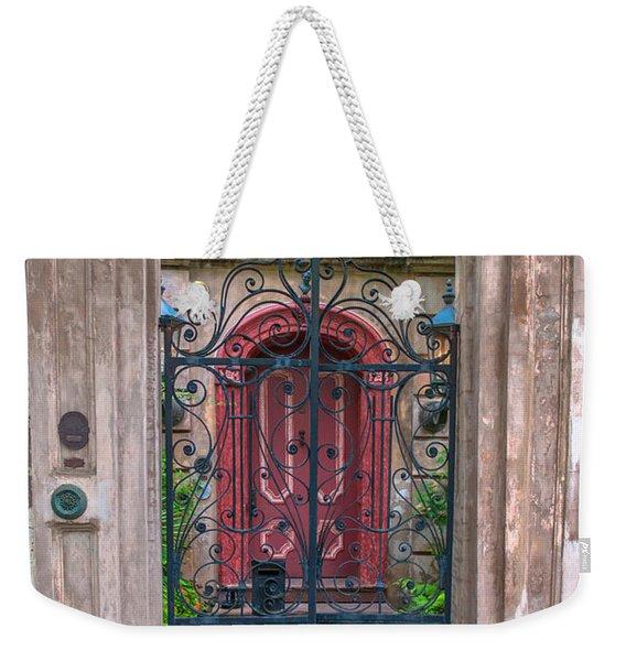 Narrow Is The Gate Weekender Tote Bag