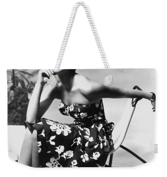 Natalie Wood Weekender Tote Bag